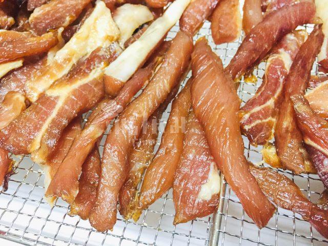 dried pork original process 2 กินไหม? - Ginmai